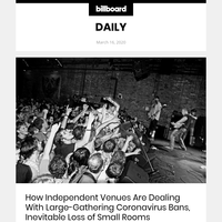 How Independent Venues Are Dealing With Large-Gathering Coronavirus Bans, Inevitable Loss of Small Rooms