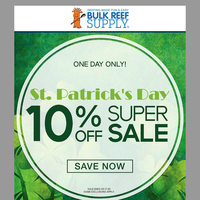 ☘️ The St. Patrick's Day Super Sale Starts NOW