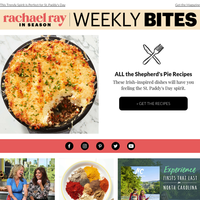 St. Patrick's Day Recipes & More From Rachael Ray In Season
