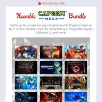 Capcom's back with MEGA savings in this MEGA bundle!