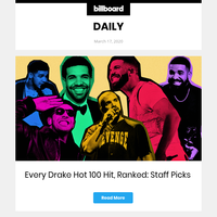 Every Drake Hot 100 Hit, Ranked