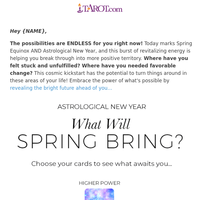 ✨ASTROLOGICAL NEW YEAR: Something Amazing Could…