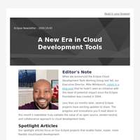 Eclipse Newsletter - March 2020