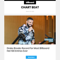 Billboard Chart Beat: Drake Makes History On Hot 100, Lil Uzi Vert Vaults Onto Billboard 200