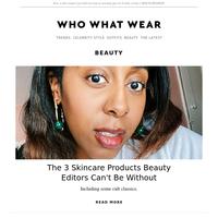3 hero products beauty editors swear by