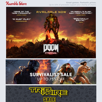 Up to 75% off Batman, Killing Floor, Fallout, and more + DOOM Eternal available now!