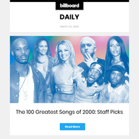 The 100 Greatest Songs of 2000
