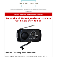 Federal and State Agencies Advise You Get Emergency Radio!
