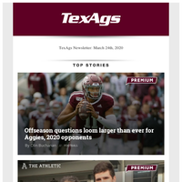 Offseason questions loom larger than ever for Aggies & Legendary Dave South retires