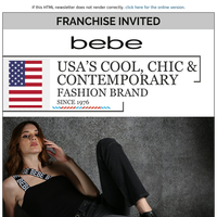 Join hands with USA's cool, chic & contemporary fashion brand since 1976