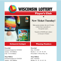 New Ticket Tuesday!