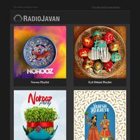 🌺 Norooz Playlists on Radio Javan