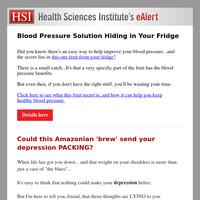 Blood Pressure Solution Hiding in Your Fridge