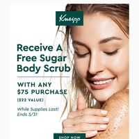Don't Miss This Luxury Gift On Your $75 Purchase!