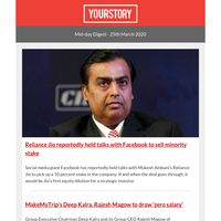 Facebook in talks to acquire 10 percent stake in Reliance Jio; Donald Trump warns shutdown could 'destroy a country'