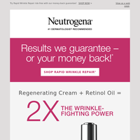 FREE gift with any 3 Rapid Wrinkle Repair products.