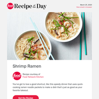 25-Minute Shrimp Ramen