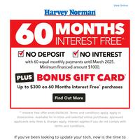 Hot Deals on Intel PCs + 60 Months Interest Free* & Bonus* Gift Card!
