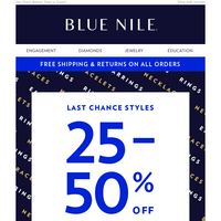 Our Gift To You: 25-50% Off Hundreds Of Styles!