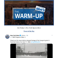 SNY's The Warm-up: MLB stoppages — The Cookie Club — Ewing on Oakley-Dolan