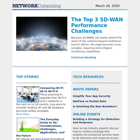 The Top 3 SD-WAN Performance Challenges
