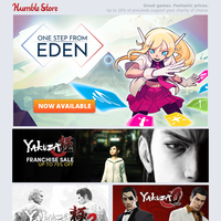 One Step From Eden available now + save up to 75% off WB and Yakuza games this weekend!