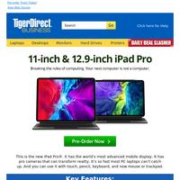 Just Launched: New iPad Pro, MacBook Air & Mac mini!