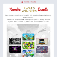🏆 And the winner goes to...the Humble Award Winners Bundle! 👏👏