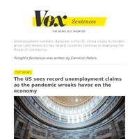 1 week, 3.3 million unemployment claims