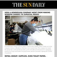 How a Henderson company went from making window shades to surgical masks