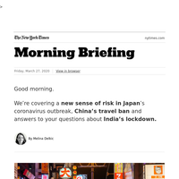Your Friday Briefing