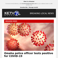 Omaha police officer tests positive for COVID-19