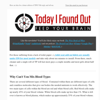 Why Can't You Mix Blood Types?