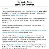 Essential California: Coronavirus cases surge in California