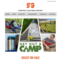 Get Out and Camp | Savings Event