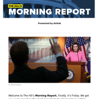 The Hill's Morning Report - Presented by Airbnb - Pelosi predicts 'victory' as House takes up $2.2T relief bill today | Trump builds data-backed case aimed at governors to lift COVID-19 lockdowns, restrictions | US overtakes China as the epicent
