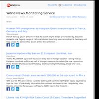 World News (Fri 27 Mar 2020)