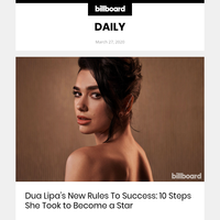 Dua Lipa's New Rules To Success: 10 Steps She Took to Become a Star
