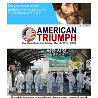 South Korea provides lessons on Coronavirus response...