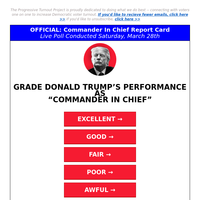 "[𝐛𝐞 𝐡𝐨𝐧𝐞𝐬𝐭!] rate ""Commander-In-Chief"" Trump"