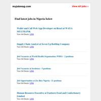 7UP, Seedstars, World Health Organization, Zee Rice, Oxfam, Airtel Recruiting
