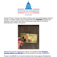 Trump's latest gift to us... (limited time promotion)