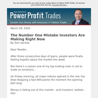 The Number One Mistake Investors Are Making Right Now