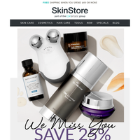It's Been a While... Save 25% + EXCLUSIVE $177 Gift