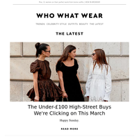 The under-£100 high-street buys we're clicking on right now