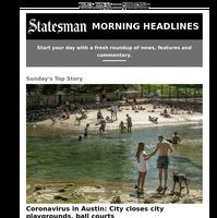 Coronavirus in Austin: City closes city playgrounds, ball courts