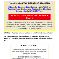 Kamala Harris's plan to SAVE our elections (it's SO simple, {NAME}!)
