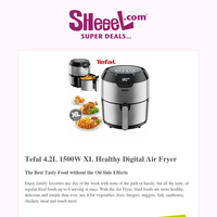 Enjoy Your Favorite Meal without Oil! Get Tefal Digital Air Fryer Now