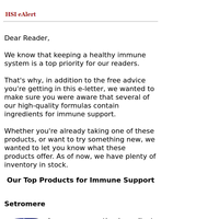 Top Products for Immune Support