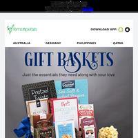 Send Gift Baskets with Essentials